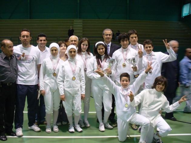 Tournoi mai 2009 (-20ans - club Taadod) Remise des médailles