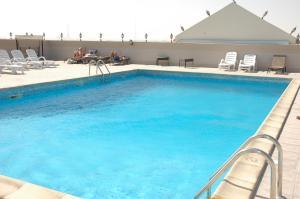 La piscine du Park Hôtel à Doha - Qatar