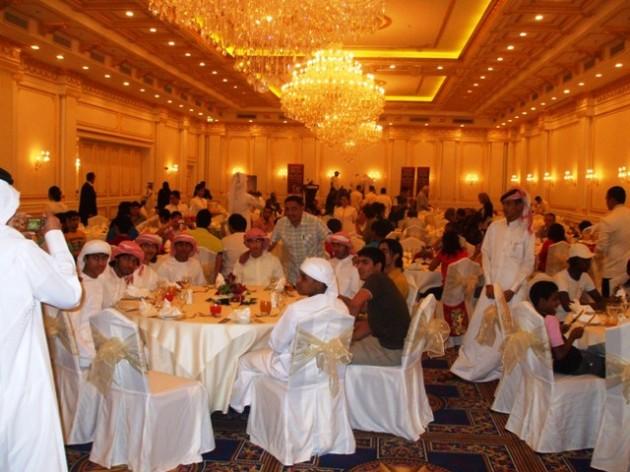Diner de gala - cérémonie de clôture - Doha 2009