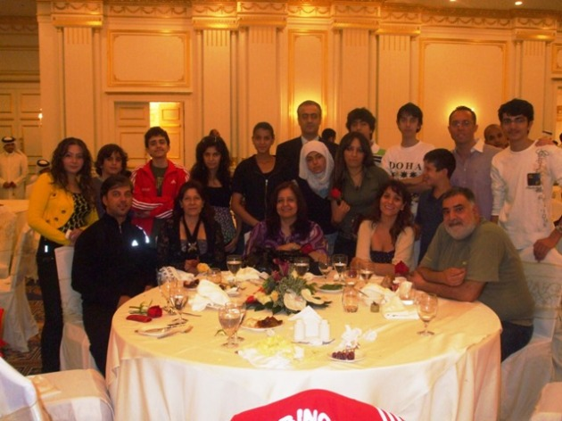 Les délégations libanaise et syrienne