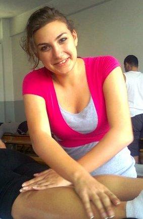 Joelle ZAKHER à l'Université Libanaise - Cours de Physiothérapie