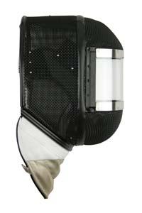 Masque à viseur transparent