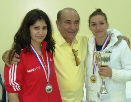 Rita ABOU JAOUDÉ (2ème), Maître Souhail et Joëlle ZAKHER (1ère)