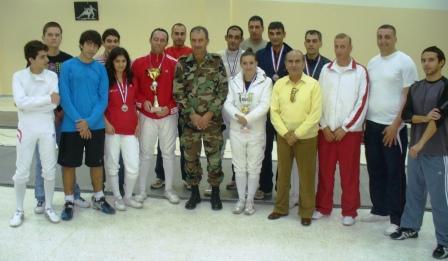 Les participants au tournoi de l'indépendance 2009