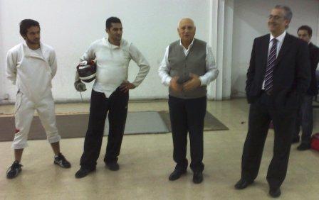 Imad Nahas, Roland Sarnouk, Antoine Chartier, Ziad Chouéiri