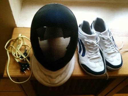Fil de corps, masque, chaussures