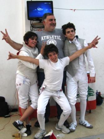 Rami Ghorra, Ramy Beydoun, Richard Moukarzel et Nagi Ghorra