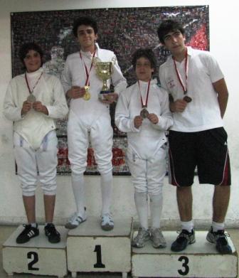 Rami Ghorra, Richard Moukarzel, Ramy Beydoun et Wissam Daoud