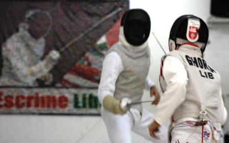 Wissam DAOUD & Rami GHORRA - demi-finale du championnat du Liban cadets