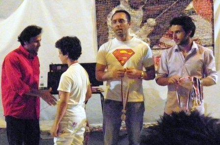 Roger Tanios, Ramy Beydoun (médaille de bronze) Fadi Tannous et Imad Nahas