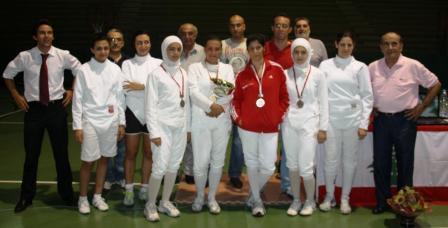Championnat du Liban Senior Fleuret Féminin 2010