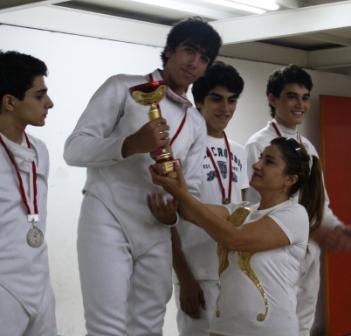Wissam Daoud, Champion du Liban Junior 2010