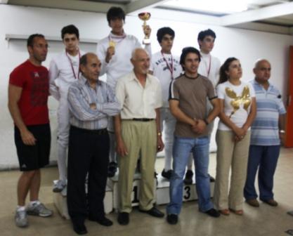 Championnat du Liban de Fleuret Masculin Junior 2010