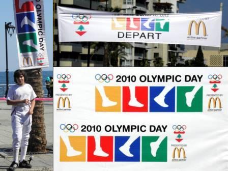 Journée Olympique 27 juin 2010