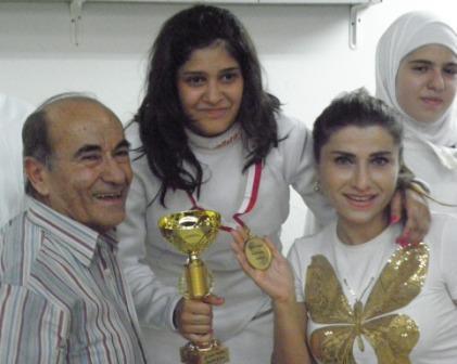 Rita Abou Jaoudé championne du Liban Junior 2010