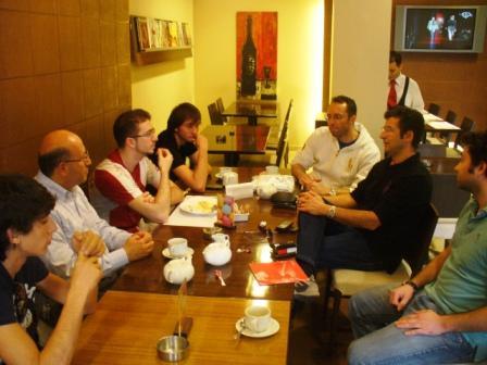 Rencontre au Chase - Ashrafieh - Liban - 4 avril 2010