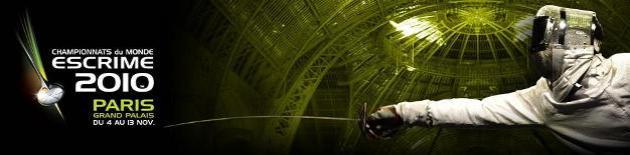 Site des Championnats du Monde Paris 2010