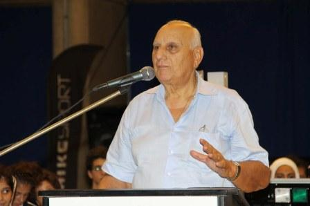 Antoine Chartier - Président du Comité Olympique Libanais