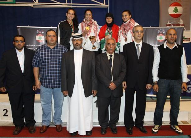 Podium Sabre Féminin Junior Individuel