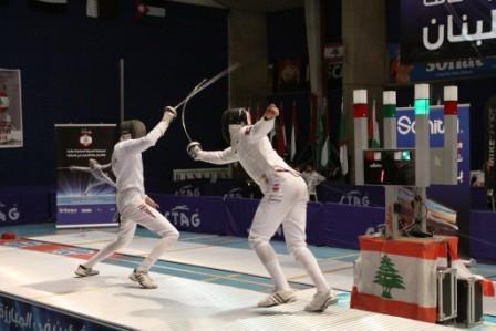 Finale Épée Masculin Cadet opposant Alhammadi(EAU) et Adham(EGY) - Profoto