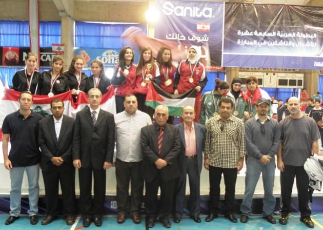 Podium Sabre Équipe Féminin Junior