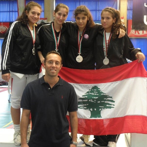 Alexandra Tannous, Céline Halépian, Rita Aboujaoudé, Dominique Tannous et Fadi Tannous