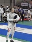 Mona Shaïto - Championnat d'Asie 2011 - Médaille d'or cadet et médaille de bronze junior