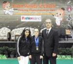1 - Mona Shaïto - Championnat d'Asie 2011 - Médaille d'or cadet et médaille de bronze junior