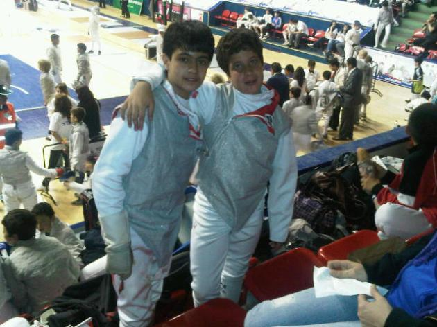 Anthony Chouéri et Ramy Beydoun - International Child Cup - Ankara Turquie