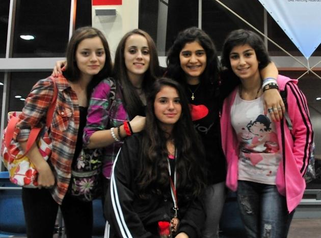 Malak Shaito, Mona Shaito, Dominique Tannous, Rita Abou Jaoudé et Karen Gémayel