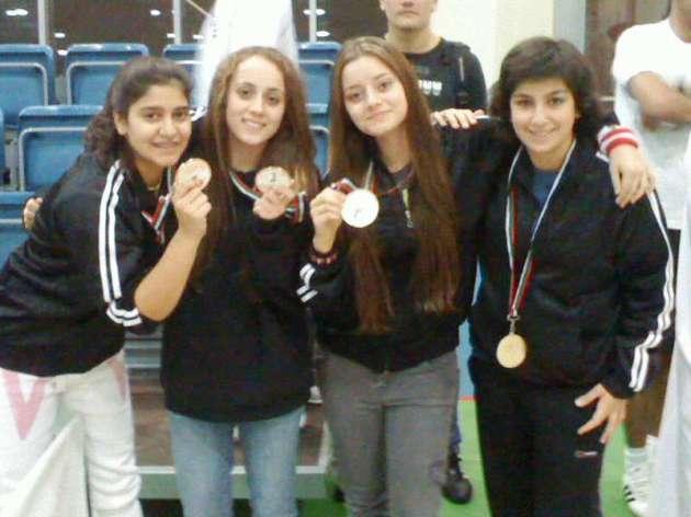 Bravo à l'équipe féminine du Liban !