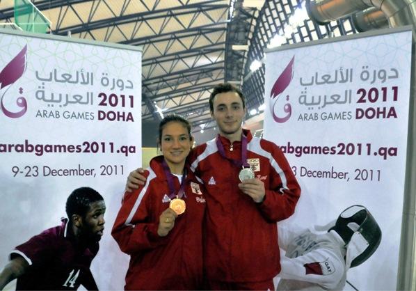 Alexandra Tannaous et Zain Braheim Shaito