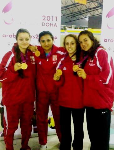 Malak Shaito, Hiba Tabet, Mona Shaito et Alexandra Tannous