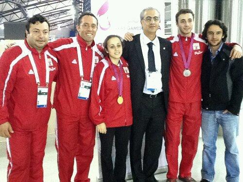 Coach Amjad, Fadi Tannous, Mona Shaito, Ziad Chouéri, Zain Braheim Shaito, Imad Nahas