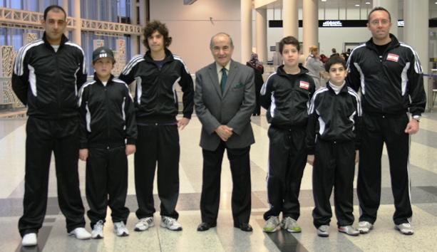 La délégation libanaise à l'AIB - 29 fév 2012