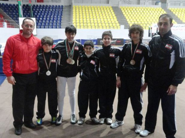 Fadi Tannous, Amir Shamseddine, Anthony Chouéri, Giorgio Daou, Ramy Beydoun, Rami Ghorra et Mahmoud Ali Ahmad