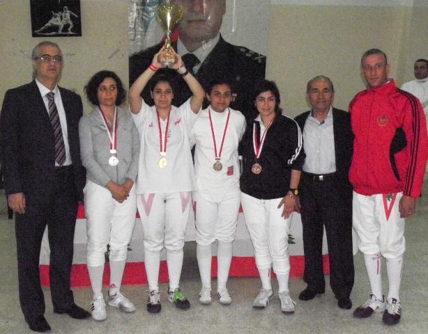Championnat du Liban Sabre féminin avril 2012