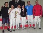 Championnat du Liban - Sabre féminin - Avril 2012