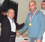 Championnat des clubs libanais d'épée masculine par équipe - avril 2012