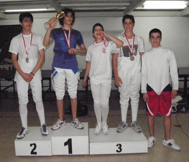 Championnat du Liban d'épée 2012 U15