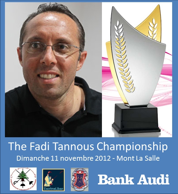 The Fadi Tannous Championchip - 11 nov 2012