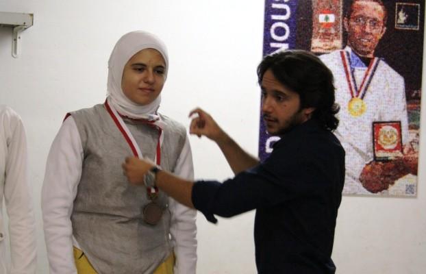 Championnat du Liban de fleuret féminin U20 - 2012