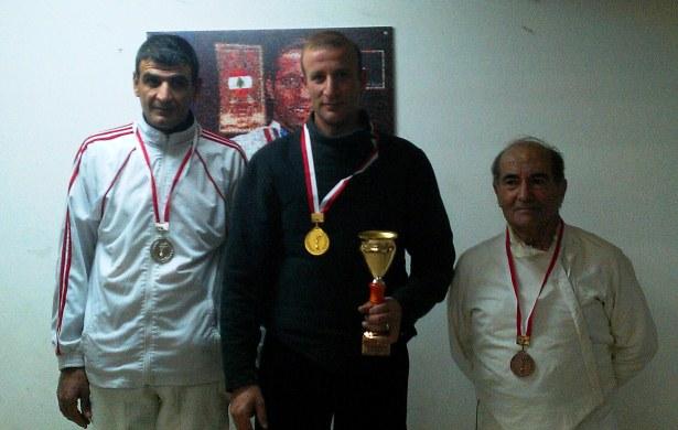 Championnat du Liban des vétérans 2012