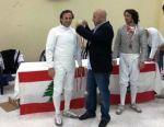 Championnat du Liban de sabre masculin senior par équipes - Centre sportif militaire Emile Lahoud - 1 décembre 2012