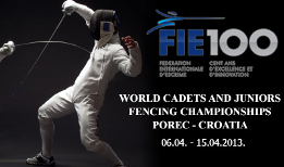 World Cadets & Juniors Championship - Porec 2013