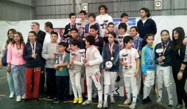 Podium - Fadi Tannous Challenge - Aintoura 2013