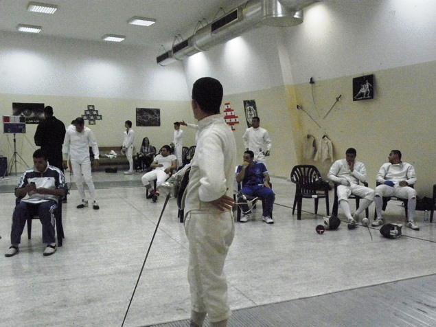 Championnat du Liban d'épée sénior par équipes - 27 avril 2013