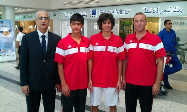 Ziad Chouéri, Anthony Chouéri, Rami Ghorra et Bahij Charanek