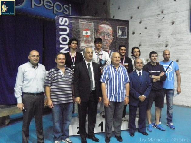 Championnat du Liban de Fleuret masculin individuel - 26 octobre 2013