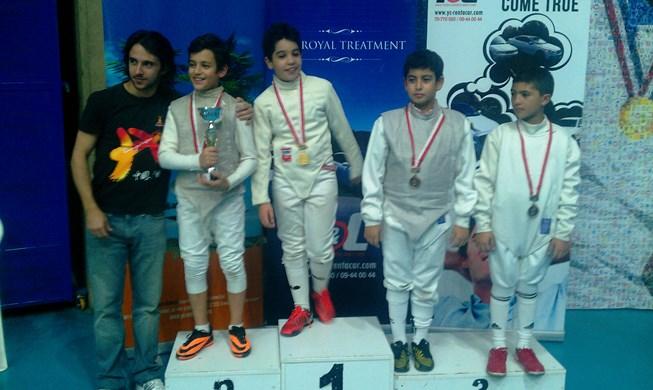 Championnat du Liban de fleuret masculin U13 - 23 novembre 2013